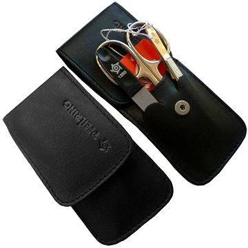 Pfeilring Original Solingen Luxusní cestovní manikúrová sada 11103 Černá Made in Solingen (400