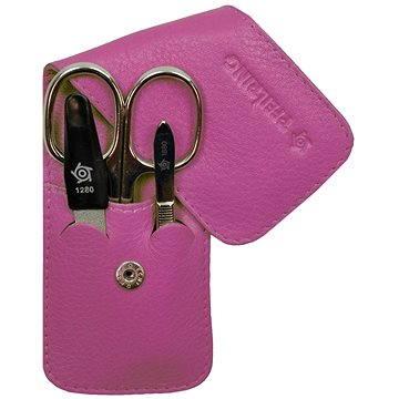 Pfeilring Original Solingen Luxusní cestovní manikúrová sada 11187 Růžová (1118700)