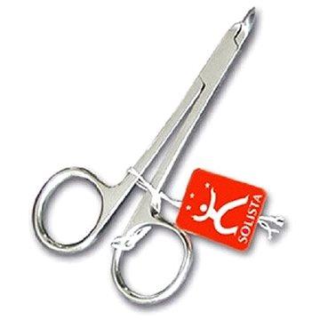 Nůžky na nehty DUKAS Solista Štipky na kůži očkové nerez 10 cm S3401 (4011215005212)