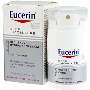 Pánský pleťový krém EUCERIN Men Deep Moisture Refreshing Care 50 ml (4005800093562)