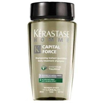 Pánský šampon KÉRASTASE Homme Capital Force Anti - Oiliness Shampoo 250 ml (3474630288041)