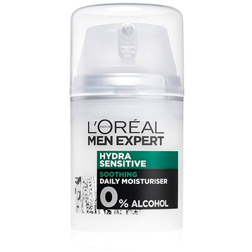 Pánský pleťový krém ĽORÉAL PARIS Men Expert Hydra Sensitive Protecting Moisturiser 24h. 50 ml (3600521602638)