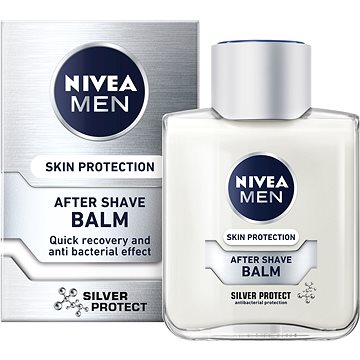 Balzám po holení NIVEA Men After Shave Balm Silver Protect 100 ml (4005808571864)