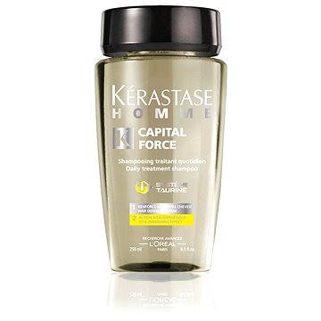 Pánský šampon KÉRASTASE Homme Capital Force Daily Treatment Shampoo 250 ml (3474630393271)