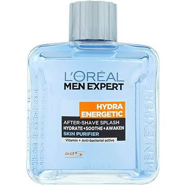 Voda po holení ĽORÉAL PARIS Men Expert Hydra Energetic Skin Purifier After-shave Splash 100 ml (3600522462095)