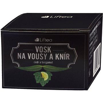 LIFTEA Vosk na vousy a knír Bergamot a cedr 25 g (8594026238544)