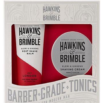 HAWKINS & BRIMBLE Dárková sada (Krém na holení 100ml + Balzám po holení 125ml) (5060495670640)