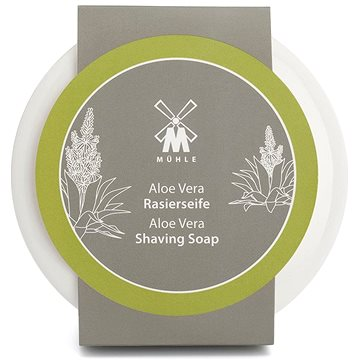 MÜHLE Aloe Vera mýdlo na holení 65 g v porcelánové misce (4028982012534)