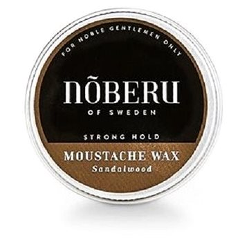 NOBERU Sandalwood Mustache Wax Strong Hold 30 ml (7350092200158)