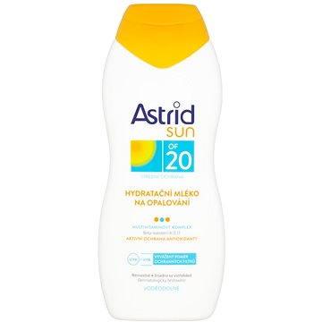 Mléko na opalování ASTRID SUN Hydratační mléko na opalování SPF 20 200 ml (8592297000372) + ZDARMA Dárek Astrid mléko na opalování OF 10 100ml