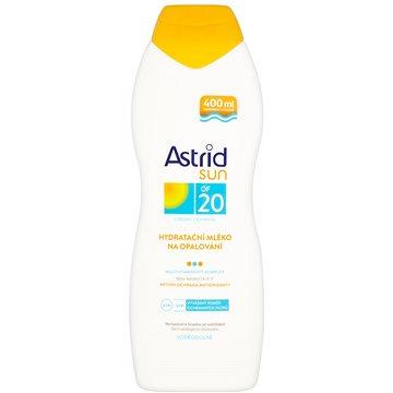 Mléko na opalování ASTRID SUN Hydratační mléko na opalování SPF 20 400 ml (8592297000365) + ZDARMA Dárek Astrid mléko na opalování OF 10 100ml