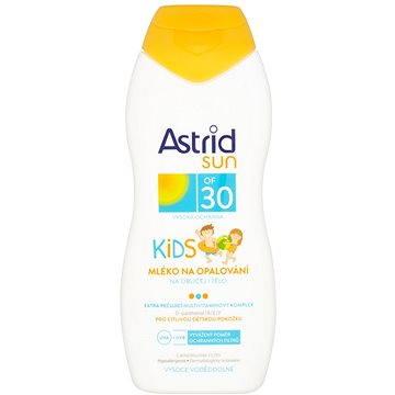 Mléko na opalování ASTRID SUN Dětské mléko na opalování SPF 30 200 ml (8592297000617) + ZDARMA Dárek Astrid mléko na opalování OF 10 100ml