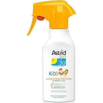 Mléko na opalování ASTRID SUN Dětské mléko na opalování spray SPF 30 200 ml (8592297000631) + ZDARMA Dárek Astrid mléko na opalování OF 10 100ml