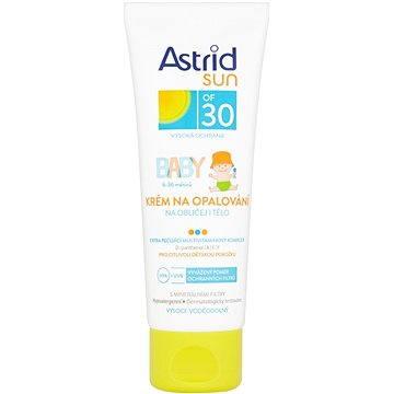 Krém na opalování ASTRID SUN Dětský krém na opalování SPF 30 75 ml - cestovní balení (8592