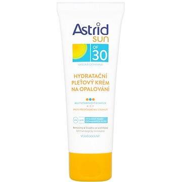 Krém na opalování ASTRID SUN Hydratační pleťový krém na opalování SPF 30 75 ml - cestovní