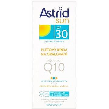 Krém na opalování ASTRID SUN Pleťový krém na opalování s koenzymem Q10 SPF 30 50 ml (8592297000587) + ZDARMA Dárek Astrid mléko na opalování OF 10 100ml