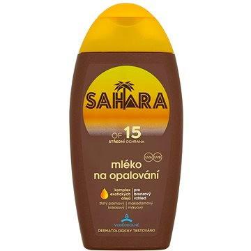 Mléko na opalování SAHARA Mléko na opalování SPF 15 200 ml (8592297000815)