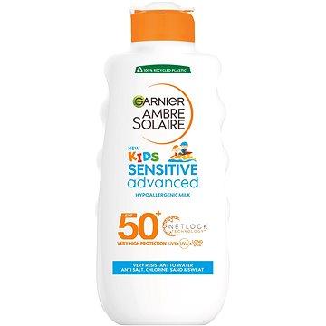 Mléko na opalování GARNIER Ambre Solaire Resisto Kids Mléko na opalování SPF 50+ 200 ml (3600540305008)
