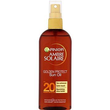 Olej na opalování GARNIER Ambre Solaire Golden Protect Olej na opalování SPF 20 150 ml (3600540873101)
