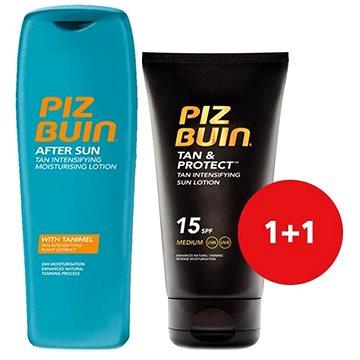Sada PIZ BUIN Tan & Protect Tan Intensifying Lotion SPF15 + Piz Buin After Sun Soothing & Cooling Moistur (8594035938053)