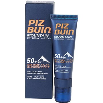 Krém na opalování PIZ BUIN Mountain Sun Cream+stick SPF50+ 20 ml (3574660674897)