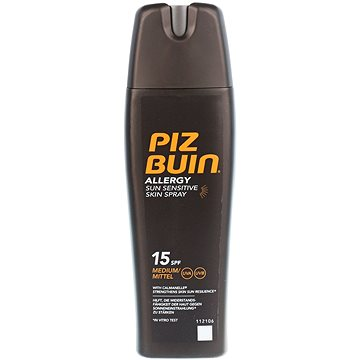 Sprej na opalování PIZ BUIN Allergy Sun Sensitive Skin Spray SPF15 200 ml (3574660539387)
