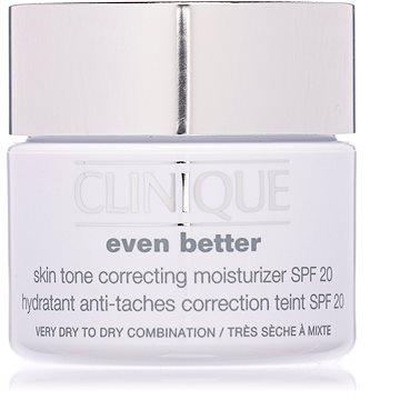 Pleťový krém CLINIQUE Even Better Skin Tone Correcting Moisturizer SPF20 50 ml (020714395230) + ZDARMA Kondicionér REVLON Be Fabulous Damaged Cream Keratin Conditioner 250 ml