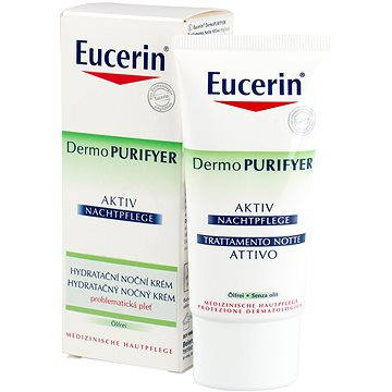 Pleťový krém EUCERIN Dermo PURIFYER Active Night 50 ml (4005800016295)
