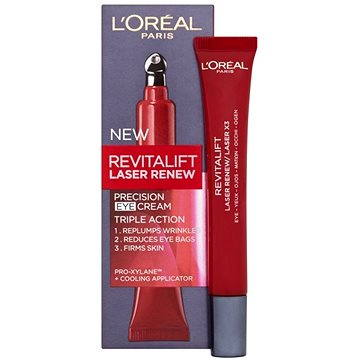 Oční krém ĽORÉAL PARIS Revitalift Laser X3 Eye Cream 15 ml (3600522251835)