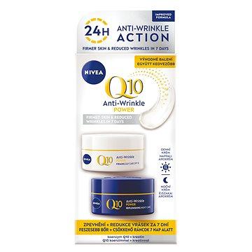 Pleťový krém NIVEA Q10 Plus set denní a noční péče proti vráskám (50 ml + 50 ml) (9005800235158)
