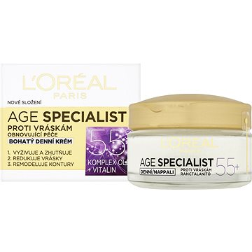 ĽORÉAL PARIS Age Specialist 55+ Day Cream 50 ml (3600522550181)