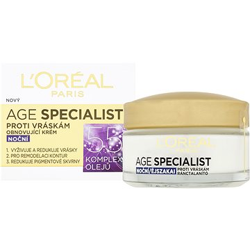 ĽORÉAL PARIS Age Specialist 55+ Night 50 ml (3600522632436)