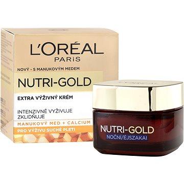 Pleťový krém ĽORÉAL PARIS Nutri-Gold Night 50 ml (3600521992425)