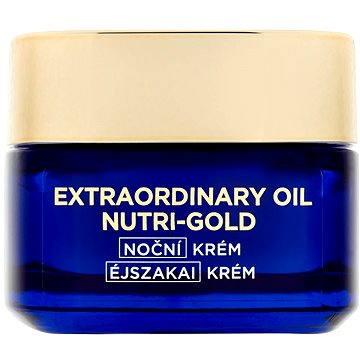 Pleťový krém ĽORÉAL PARIS Nutri-Gold Extraordinary Oil Night Cream 50 ml (3600523044368)