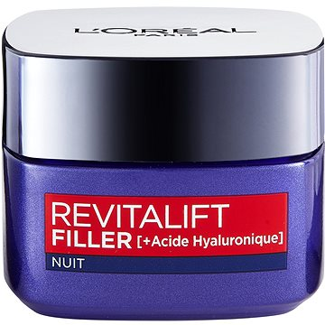 Pleťový krém ĽORÉAL PARIS Revitalift Filler [H.A] Night 50 ml (3600523201419)