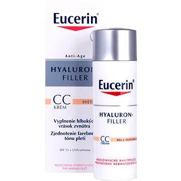 Eucerin Hyaluron Filler CC krém SPF15 01 Light 50 ml