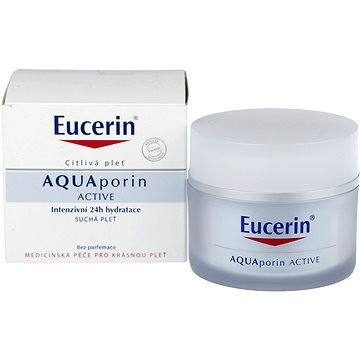 Pleťový krém EUCERIN AQUAporin Active for Dry Skin 50 ml (4005800128295) + ZDARMA Kondicionér REVLON Be Fabulous Hair Recovery Step 4 Keratin Conditioner 250 ml
