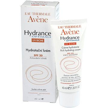 Pleťový krém AVENE Hydrance Optimal Riche SPF 20 40 ml (3282779206297)