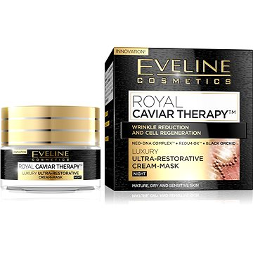 EVELINE Cosmetics Royal Caviar Ultra-Repair Night Cream-Mask 50 ml (5901761902389)