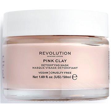 REVOLUTION SKINCARE Pink Clay Detoxifying 50 ml (5057566118569)