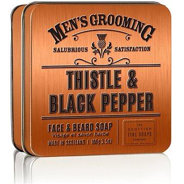 SCOTTISH FINE SOAPS Černý pepř a ostropestřec 100 g (5016365018128)