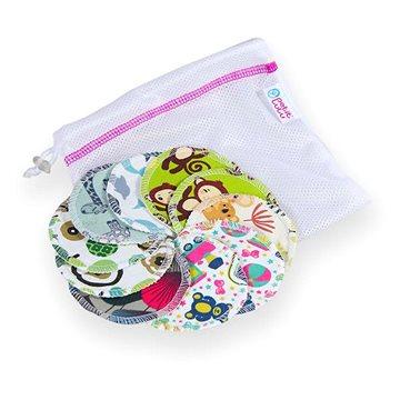 PETIT LULU Odličovací tampony pratelné 10 ks + pytlík na praní (8596040015170)