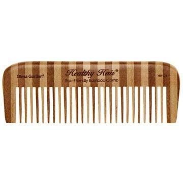 OLIVIA GARDEN Healthy Hair Bamboo Comb C4 (5414343010537)
