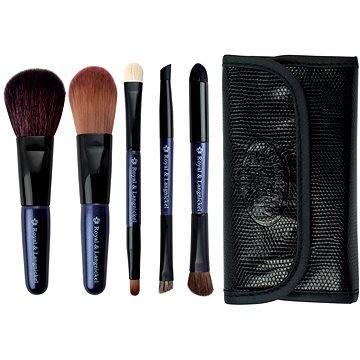 Sada kosmetických štětců ROYAL & LANGNICKEL Brush Essentials™ Travel Kit 5 pcs Purple (#BTRAVEL-PL)