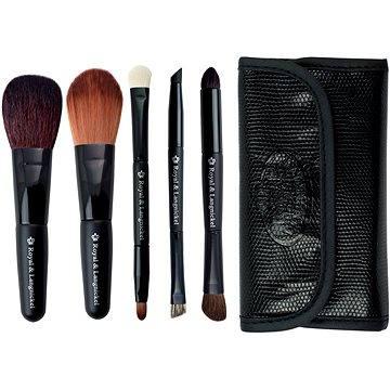 Sada kosmetických štětců ROYAL & LANGNICKEL Brush Essentials™ Travel Kit 5 pcs Black (#BTRAVEL-BL)
