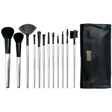 Sada kosmetických štětců ROYAL & LANGNICKEL Brush Essentials™ Kit 12 pcs Silver (#BBE-SET12)