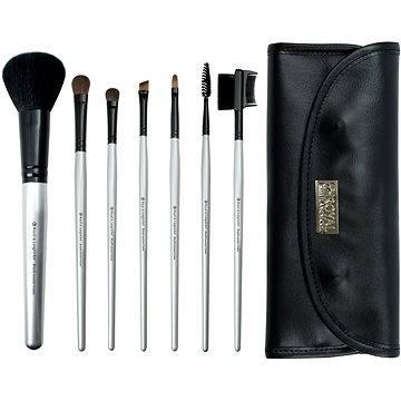 Sada kosmetických štětců ROYAL & LANGNICKEL Brush Essentials™ 7 pcs Kit Silver (BBE-SET7)
