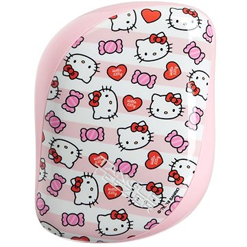 TANGLE TEEZER Compact Styler Hello Kitty Candy Stripes (5060173374884)