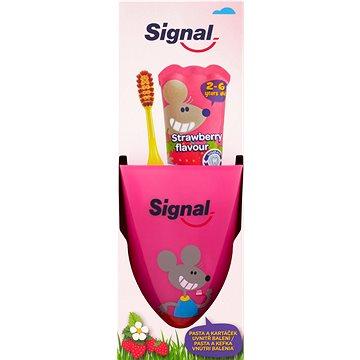 SIGNAL Strawberry dětská zubní sada (8584057011636)