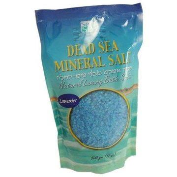 Koupelová sůl SEA OF SPA Minerální sůl do koupele - levandule 500gr (7290010673025)